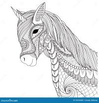 Disegni Di Unicorni Da Colorare Con E Immagini Di Unicorni