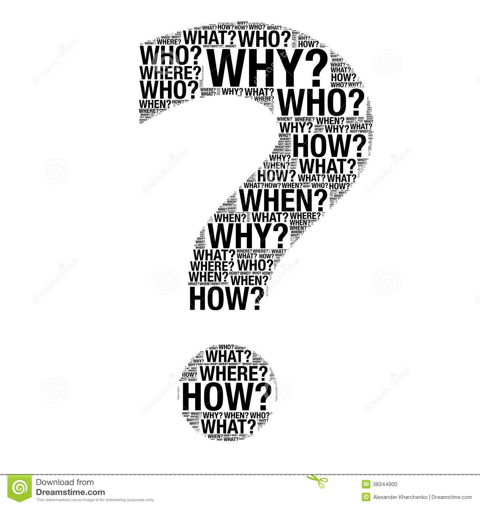 La Question Exprime Le Dessin Comme Point D Interrogation
