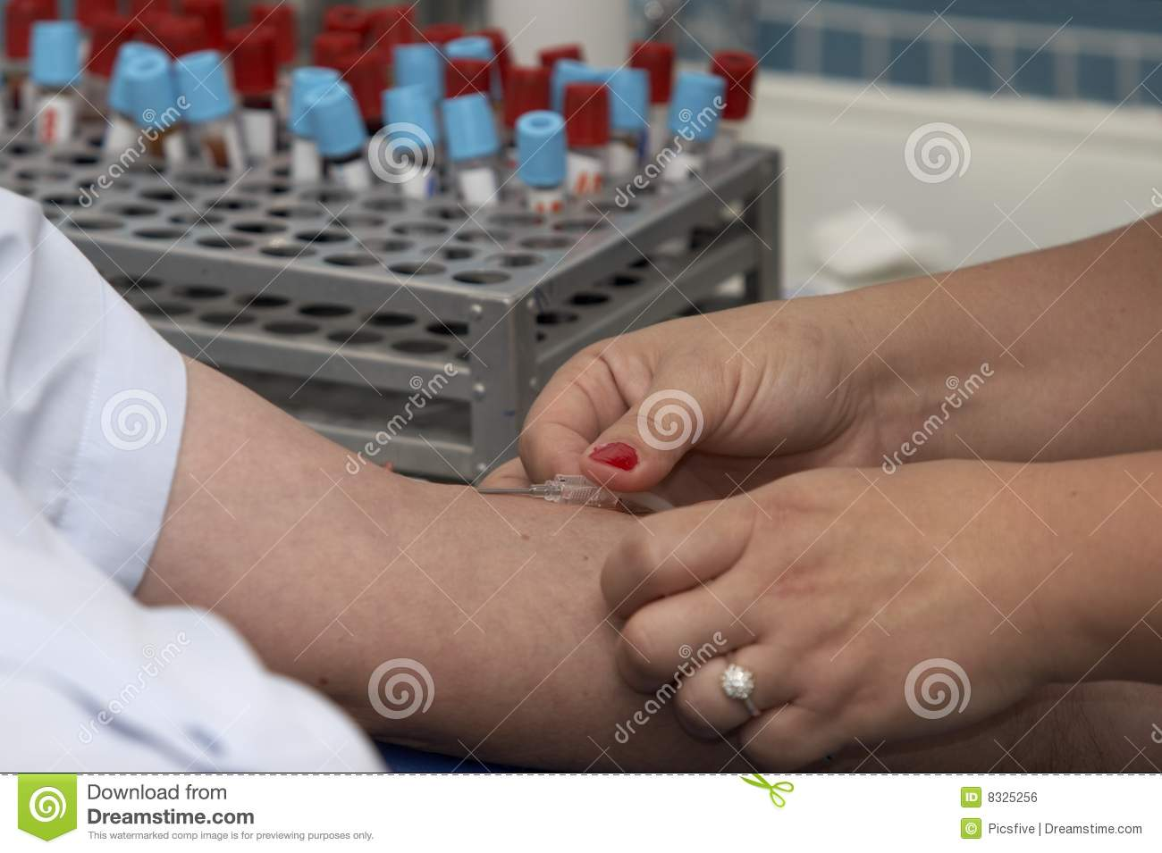 Lab Blood Test 11 Royalty Free Stock Image
