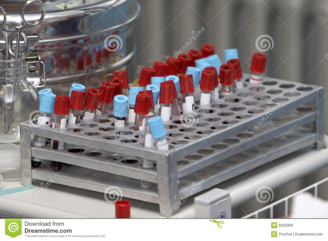 Lab Blood Test 3 Royalty Free Stock Photos