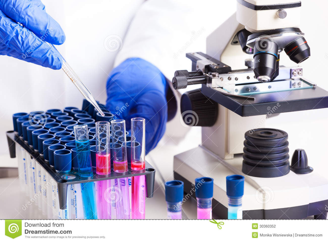 Laboratory Equipment Stock Photography