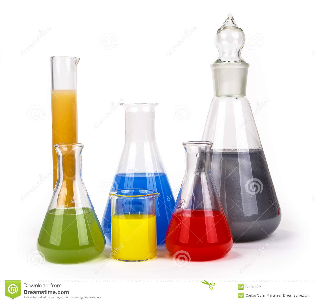 Laboratory Glassware Stock Image Image Of Instrument