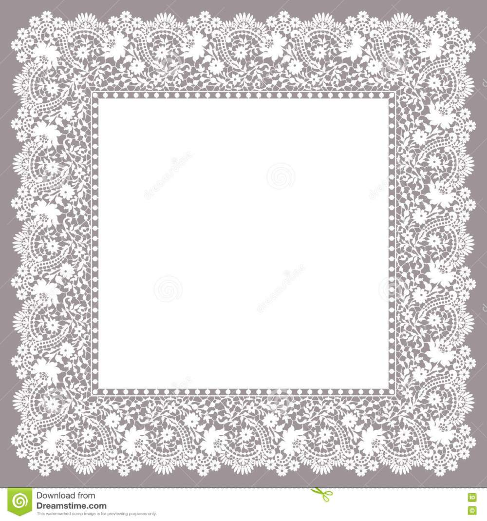 medium resolution of lace frame clip art