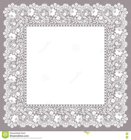 small resolution of lace frame clip art