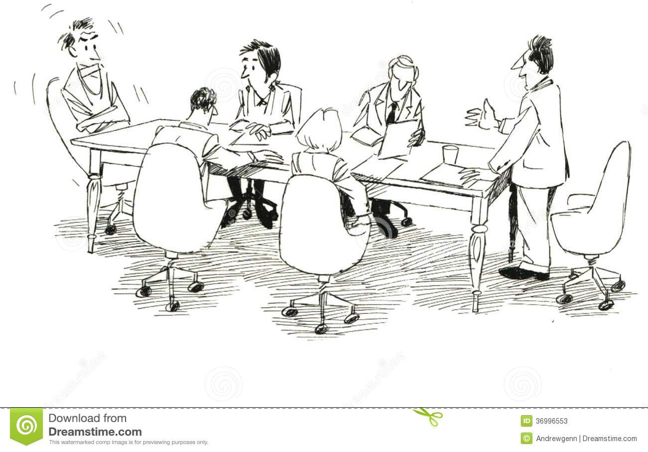 Lack Of Teamwork Stock Illustration Illustration Of Woman