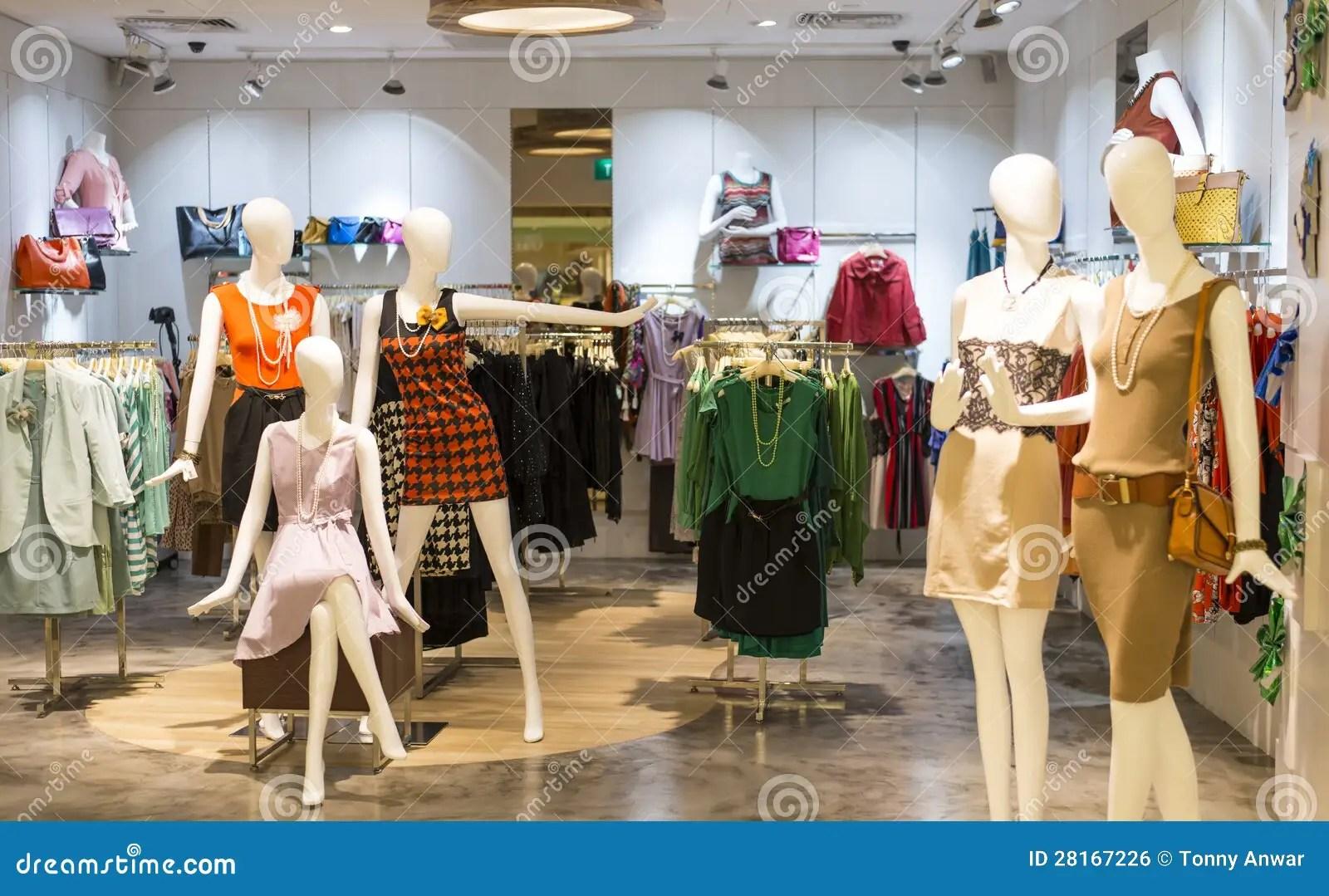 Ladies Fashion Mannequin Royalty Free Stock Image Image
