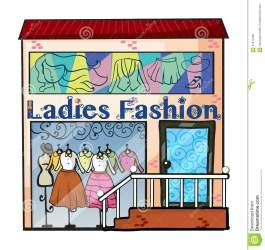 ladies clipart clothing background illustration royalty letter preview vector dreamstime cliparts