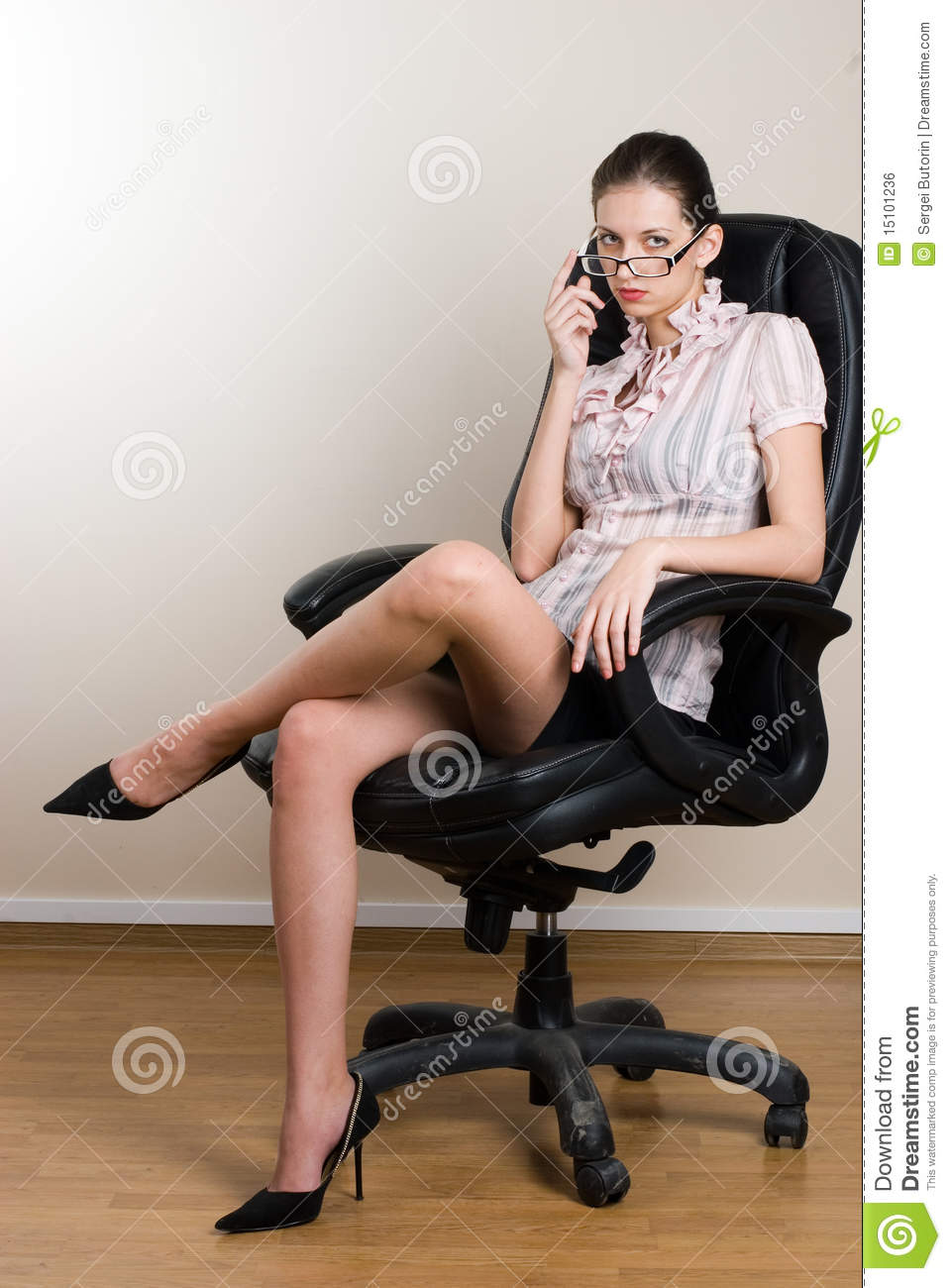 Ladyboss In Office Royalty Free Stock Image  Image 15101236