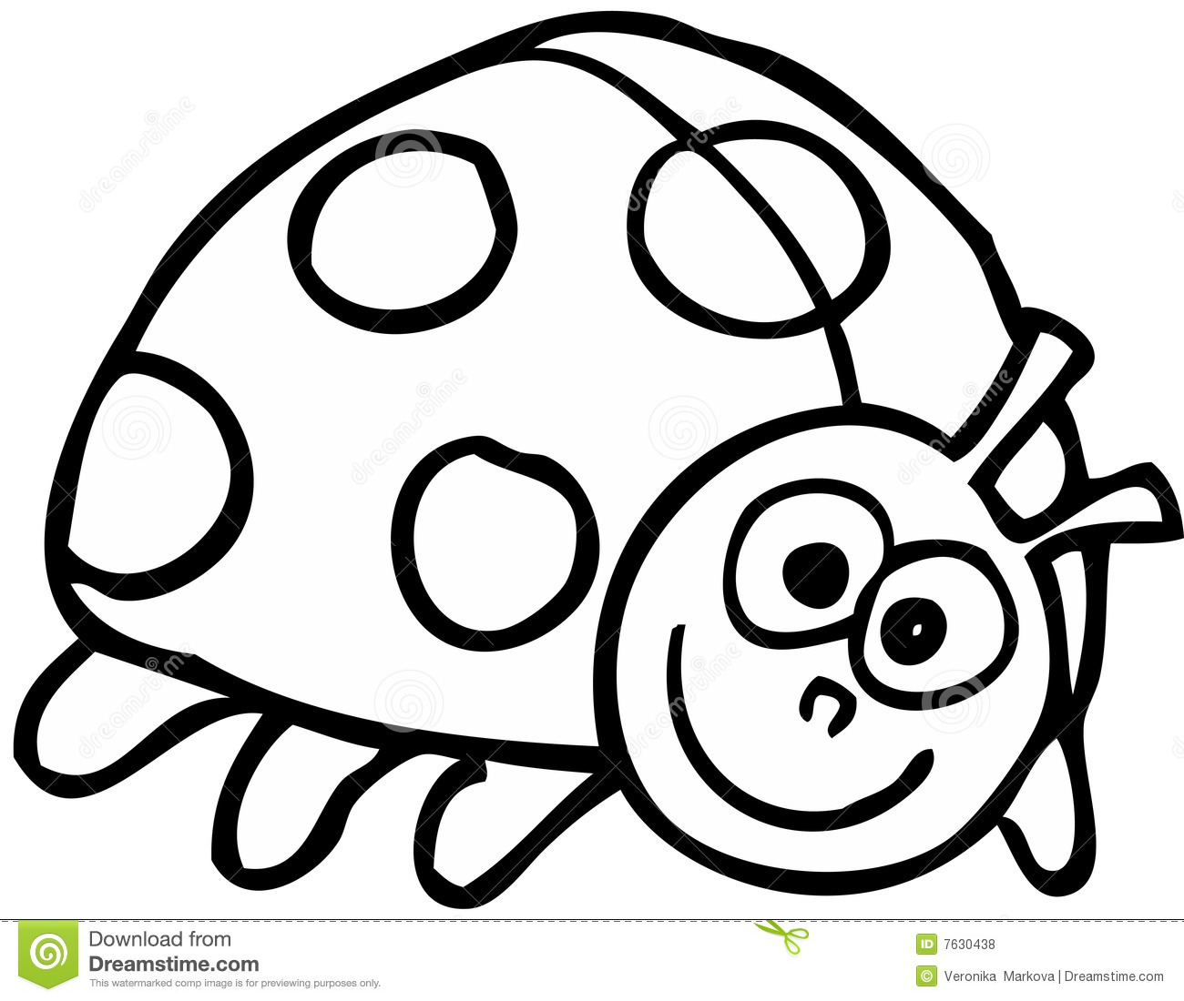 Ladybird Stock Vector Illustration Of Illustrated