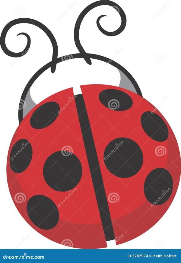 ladybug design clip art stock vector