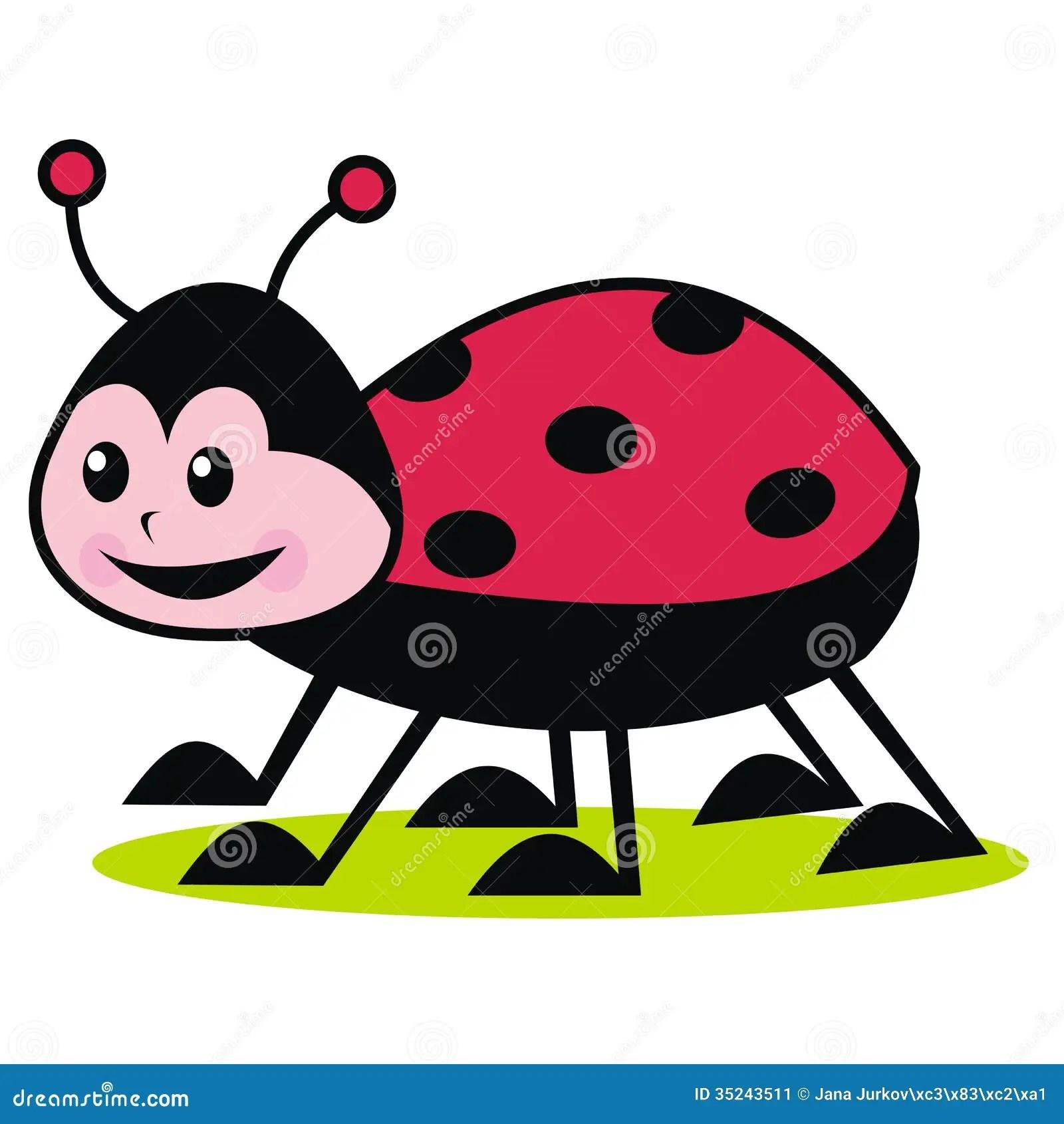 Ladybug Stock Vector Illustration Of Elytra Nature