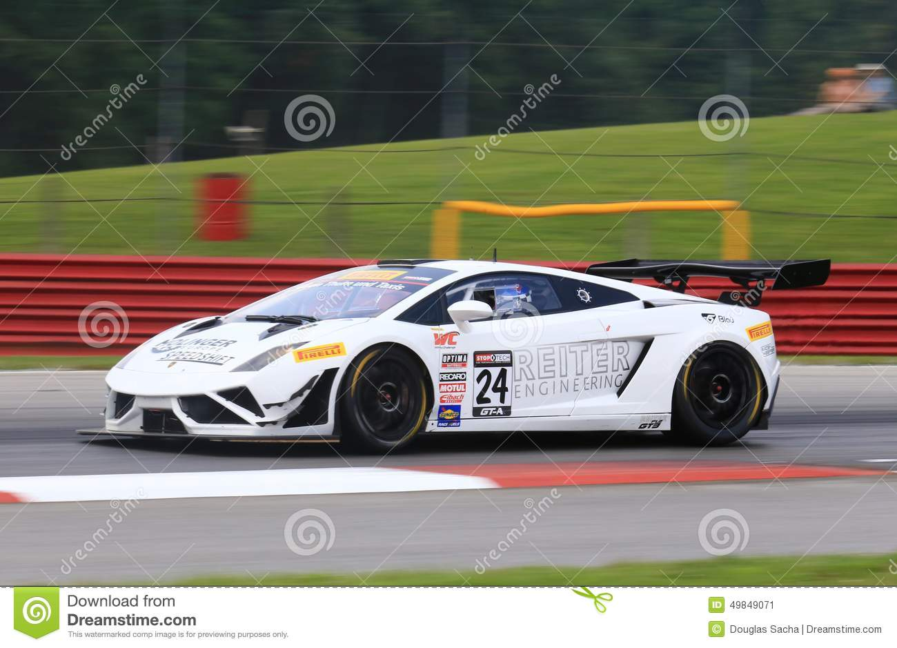 Lamborghini Racing Car Editorial Photo  Image 49849071
