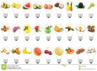 Lamp With Fruit Stock Images - Image: 23183064