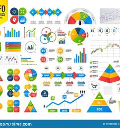 business infographic template lamp idea and head with gear icons graph chart diagram sign teamwork symbol financial chart time counter vector [ 1600 x 1383 Pixel ]