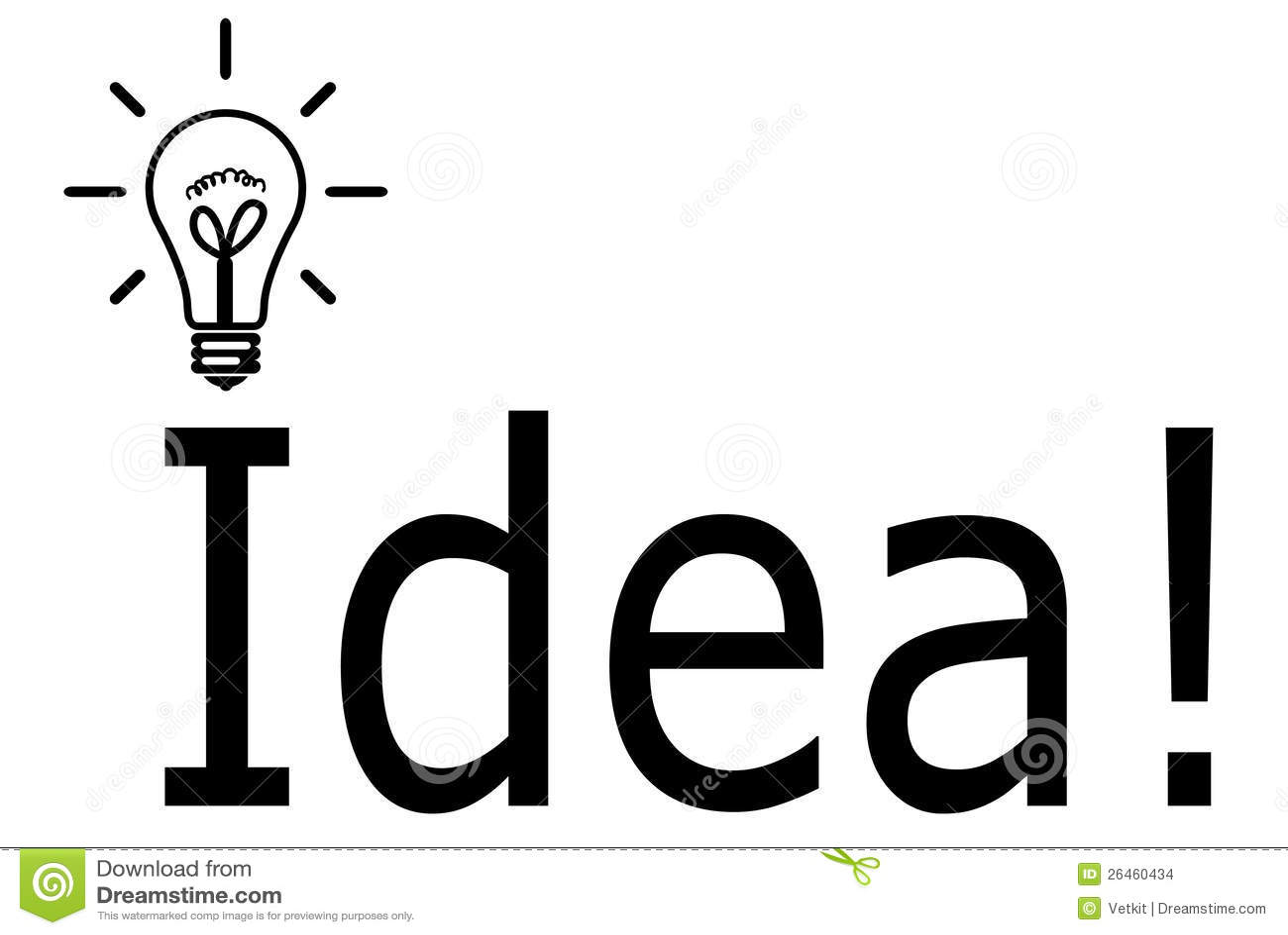 Lamp Idea Symbol Stock Illustration Image Of Business