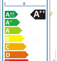 lamp new energy rating graph label [ 718 x 1300 Pixel ]