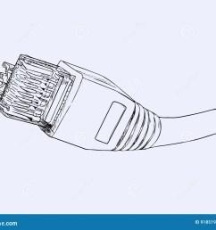 lan cable network internet  [ 1300 x 1078 Pixel ]