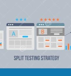 landing page split test ab test for audience interaction development digital marketing strategy [ 1300 x 740 Pixel ]