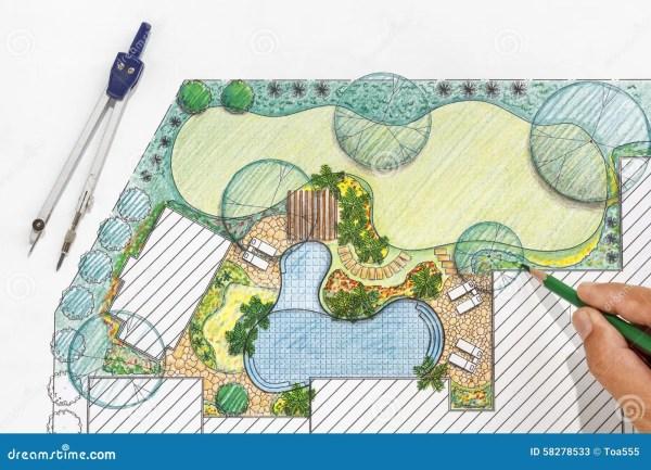 landscape architect design backyard