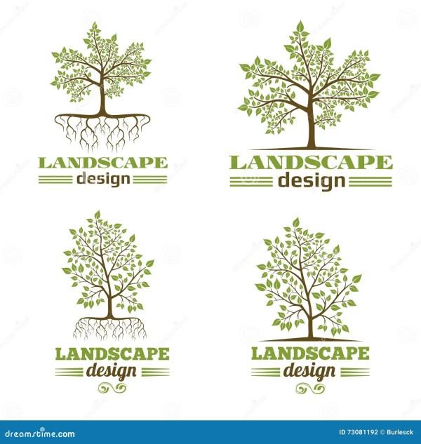 landscape design company emblems