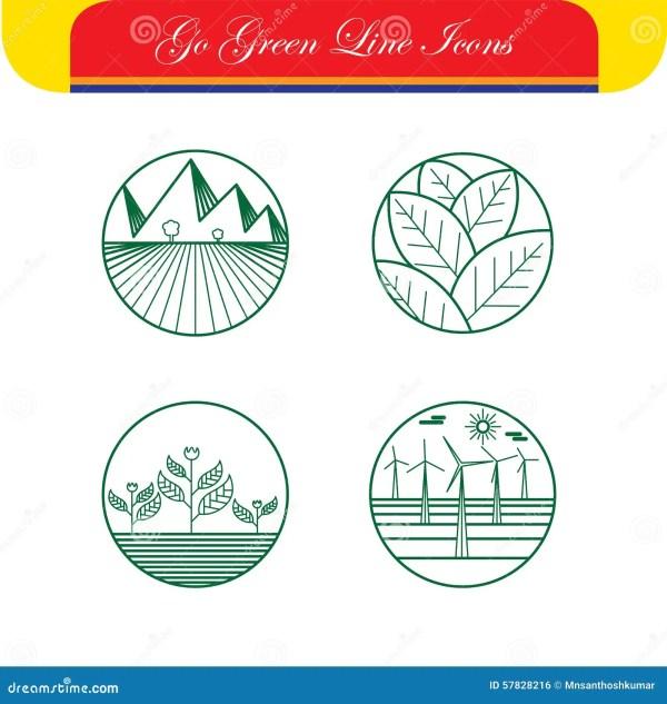landscape & nature vector icons