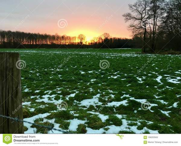 landscape in wachtendonk north