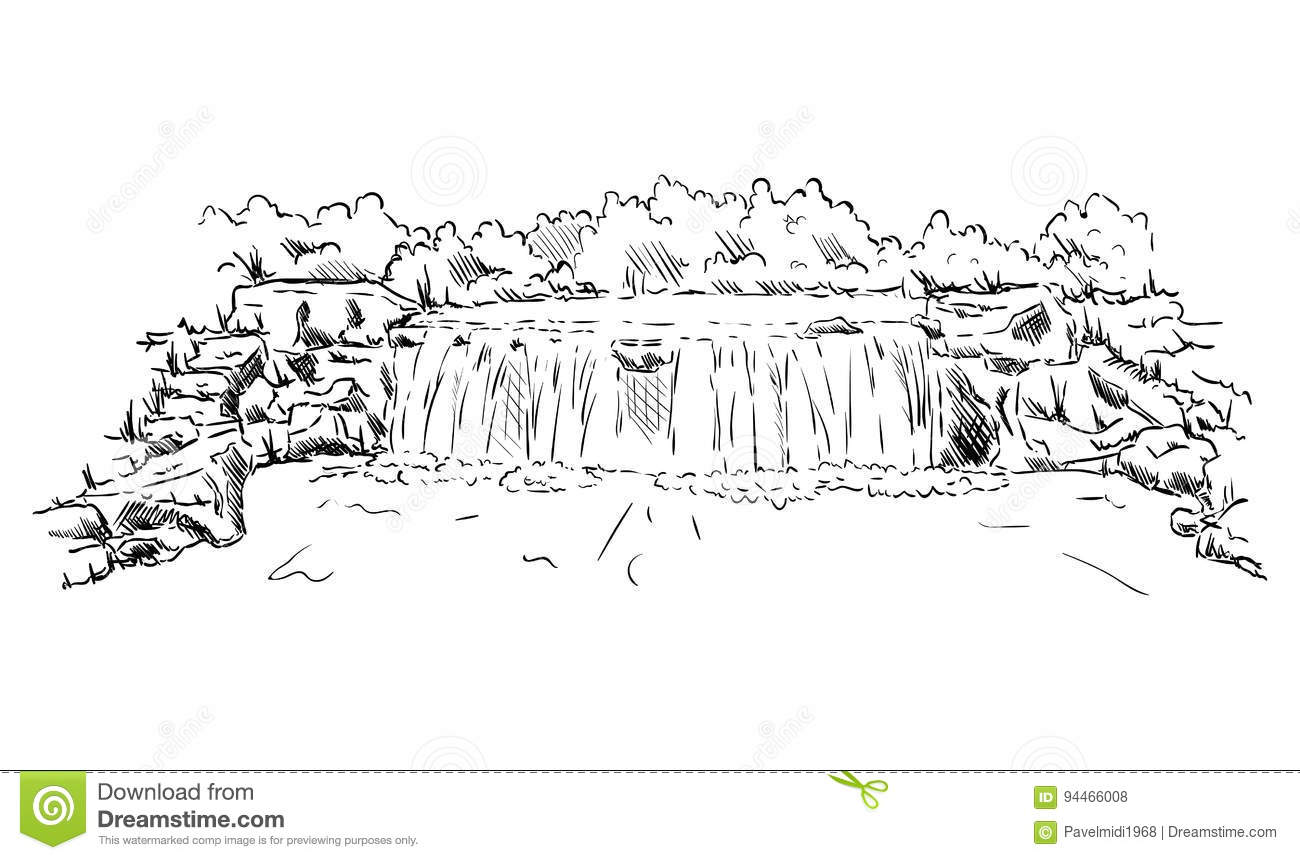 Waterfall Cartoons Illustrations Amp Vector Stock Images