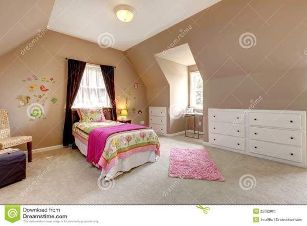Pink And Brown For Little Girls Room - Year of Clean Water