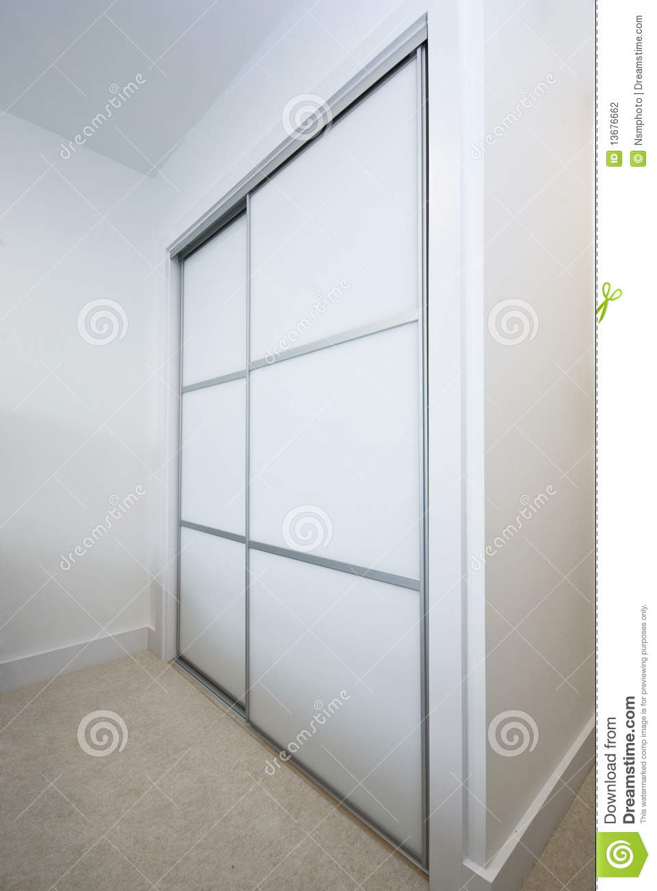 Large Built In Wardrobe Stock Photography Image 13676662