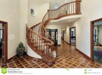 How To Decorate Foyer With Spiral Staircase - Home Design ...