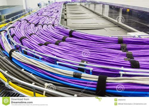 small resolution of large group of lilac utp cables