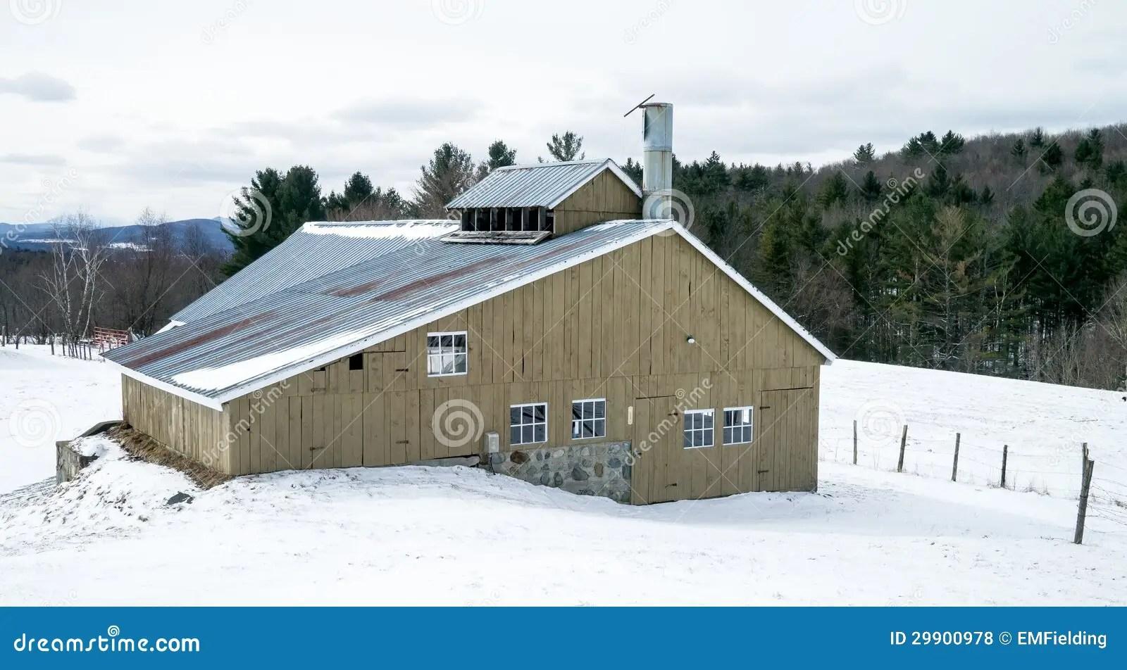 Maple Sugar Shack Design Plans