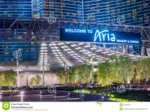 Las Vegas Aria Editorial Of Entertainment