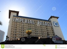 Las Vegas - Imperial Palace Hotel And Casino Editorial