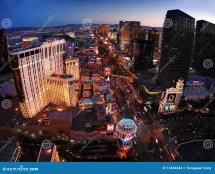 Las Vegas Panorama Editorial Stock Of