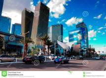 Las Vegas Strip Street View Editorial Stock