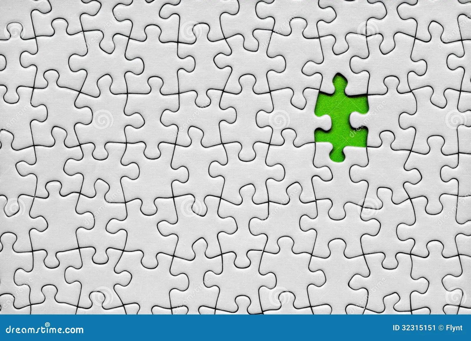 Puzzle Piece Set Seamless Vector Illustration