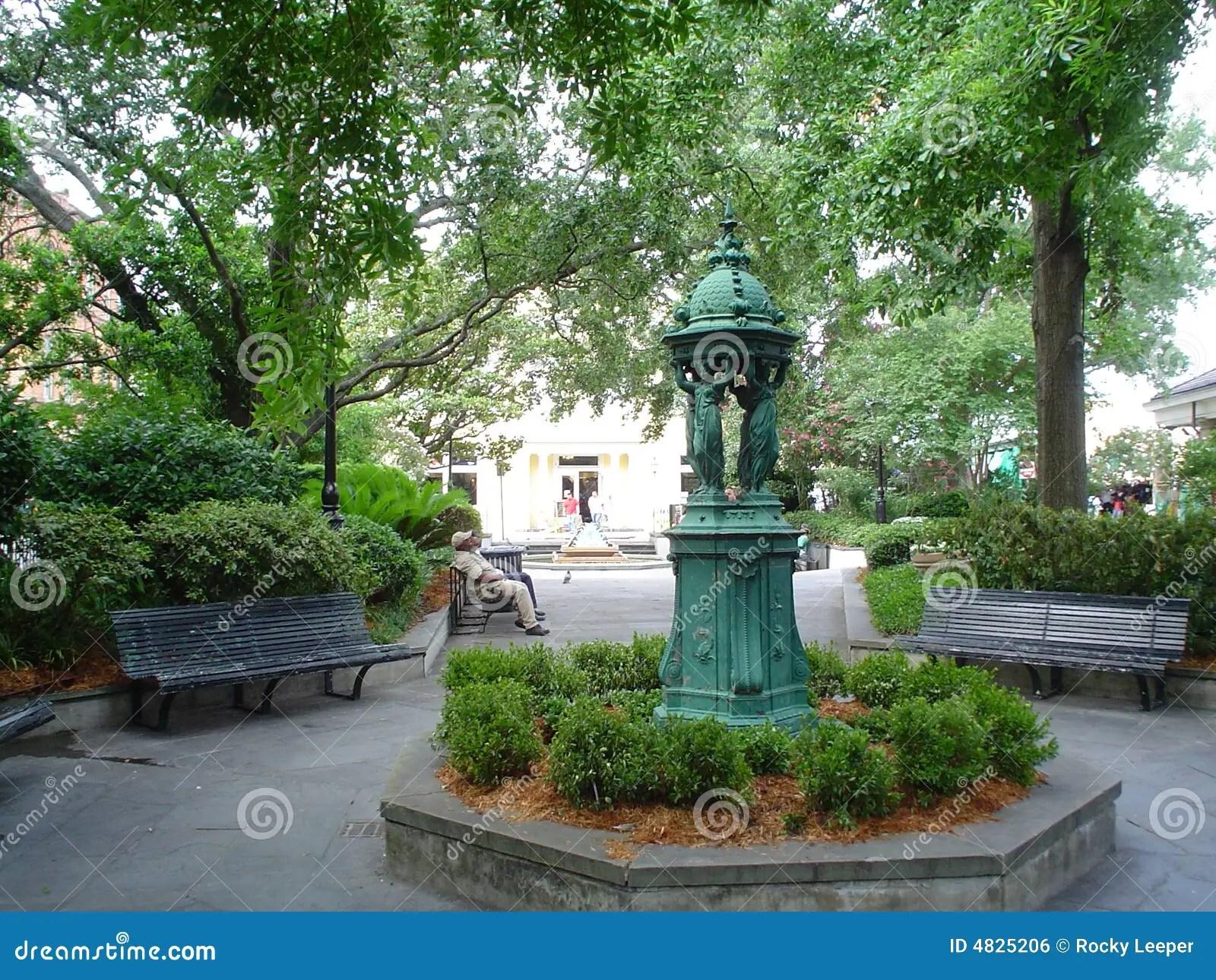 Latrobe Park French Quarter Royalty Free Stock Image