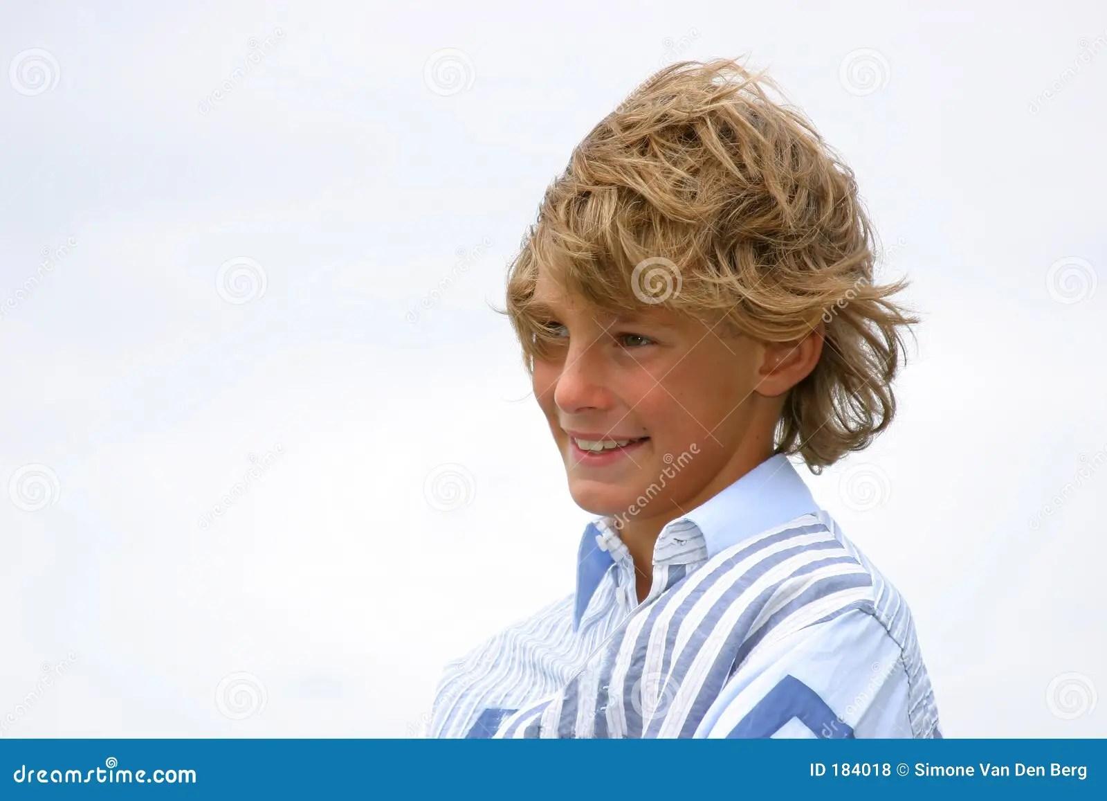 Puberty Boys Stock Photos