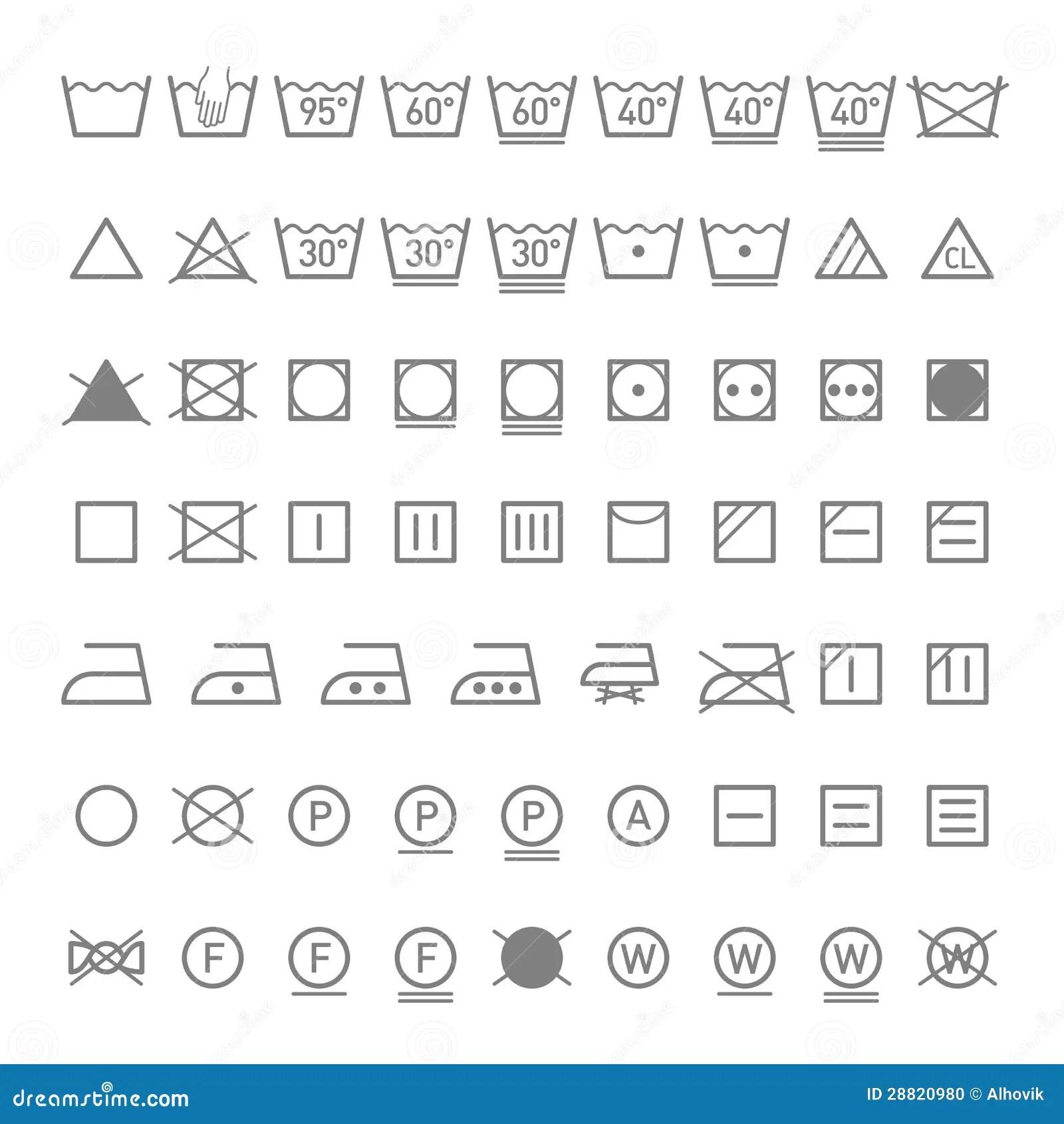 Care instruction symbols laundry care instruction symbols buycottarizona Gallery