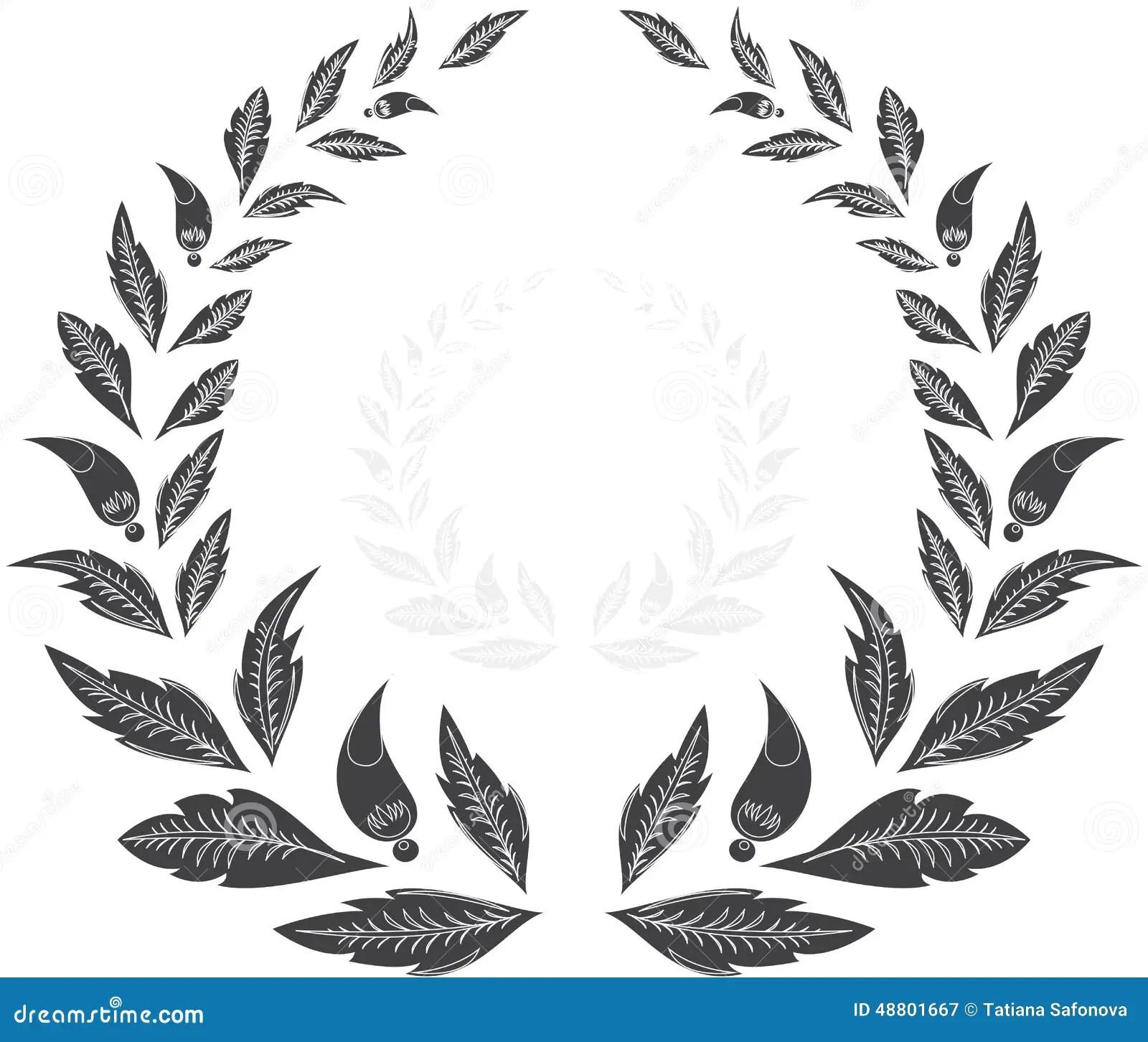 Laurel Wreath Award Stock Vector
