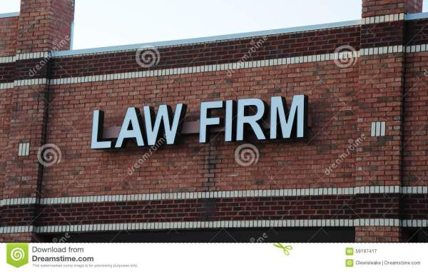 Law Firm Signs