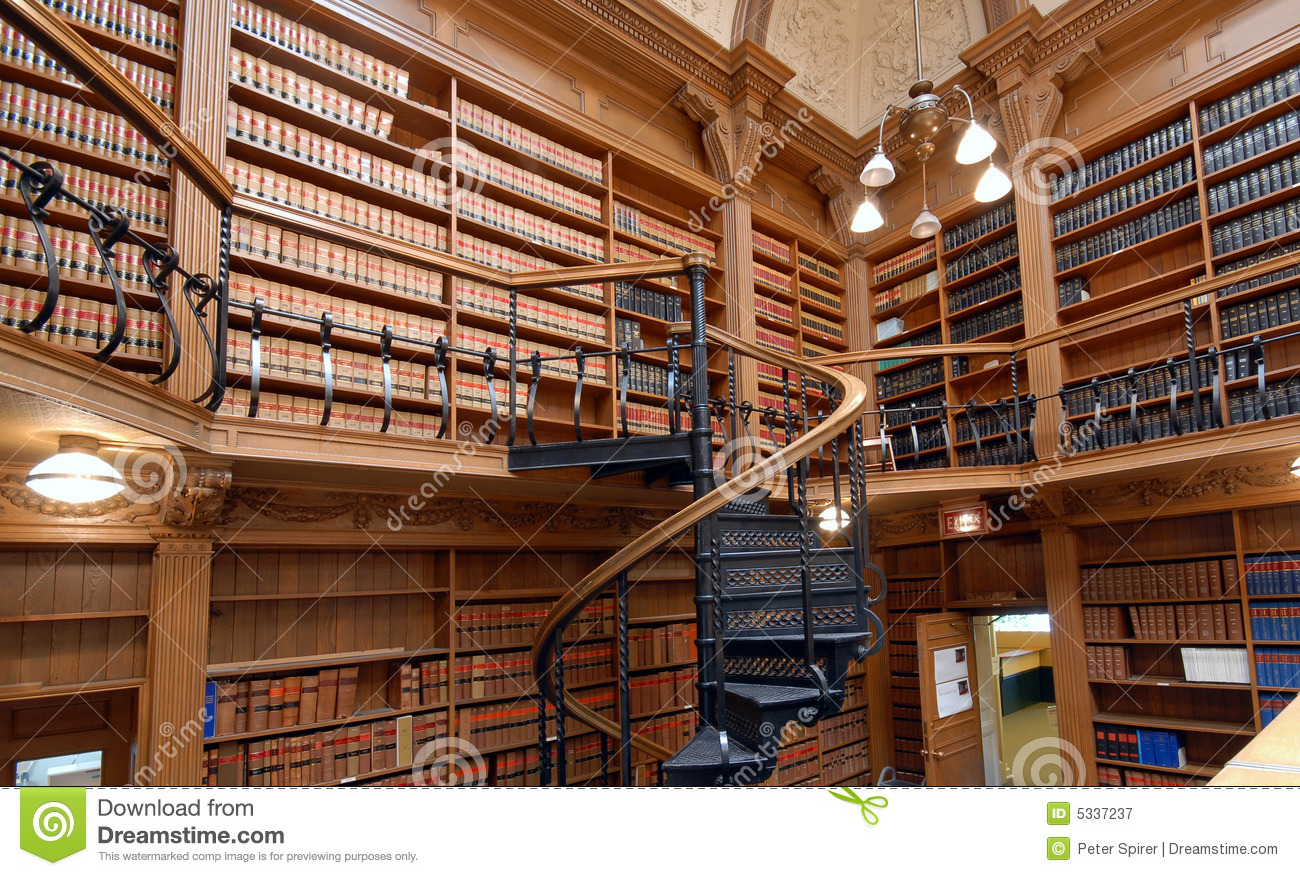 Law School Library Royalty Free Stock Photography  Image
