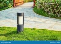 Lawn Lamp Garden Light Outdoor Landscape Lighting Stock ...