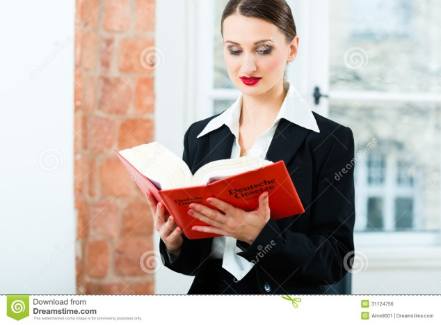 Lawyer In Office Reading Law Book Stock Photo Image Of Book Occupation 31124756