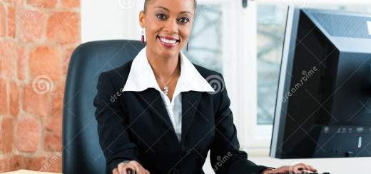 Lawyer In Office Sitting On The Computer Stock Photo Image Of Professional Person 30692680