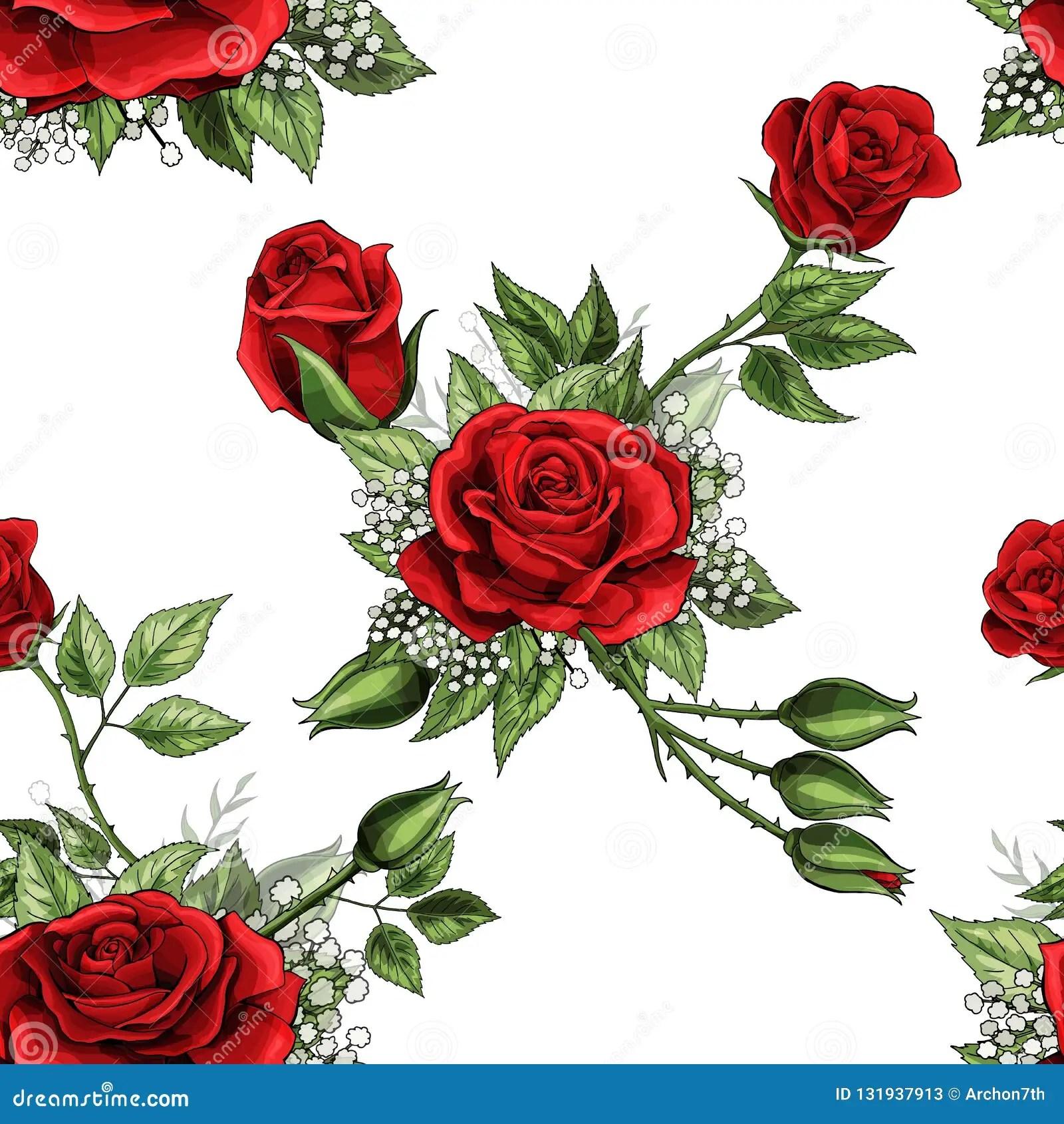 dessin à imprimer: Dessin De Rose Rouge A Imprimer