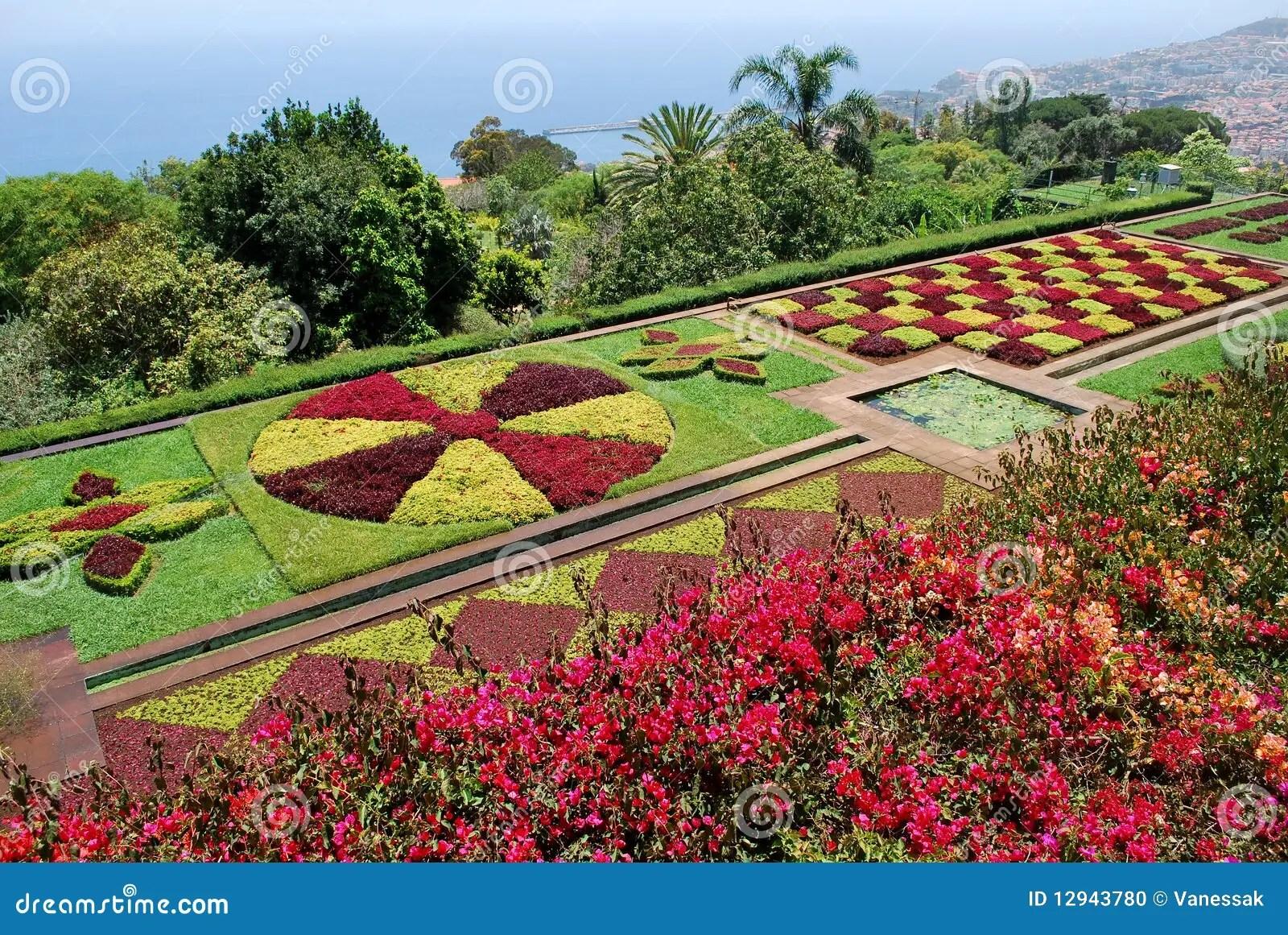 Photo Stock Le Jardin Botanique De Funchal En La Mad C