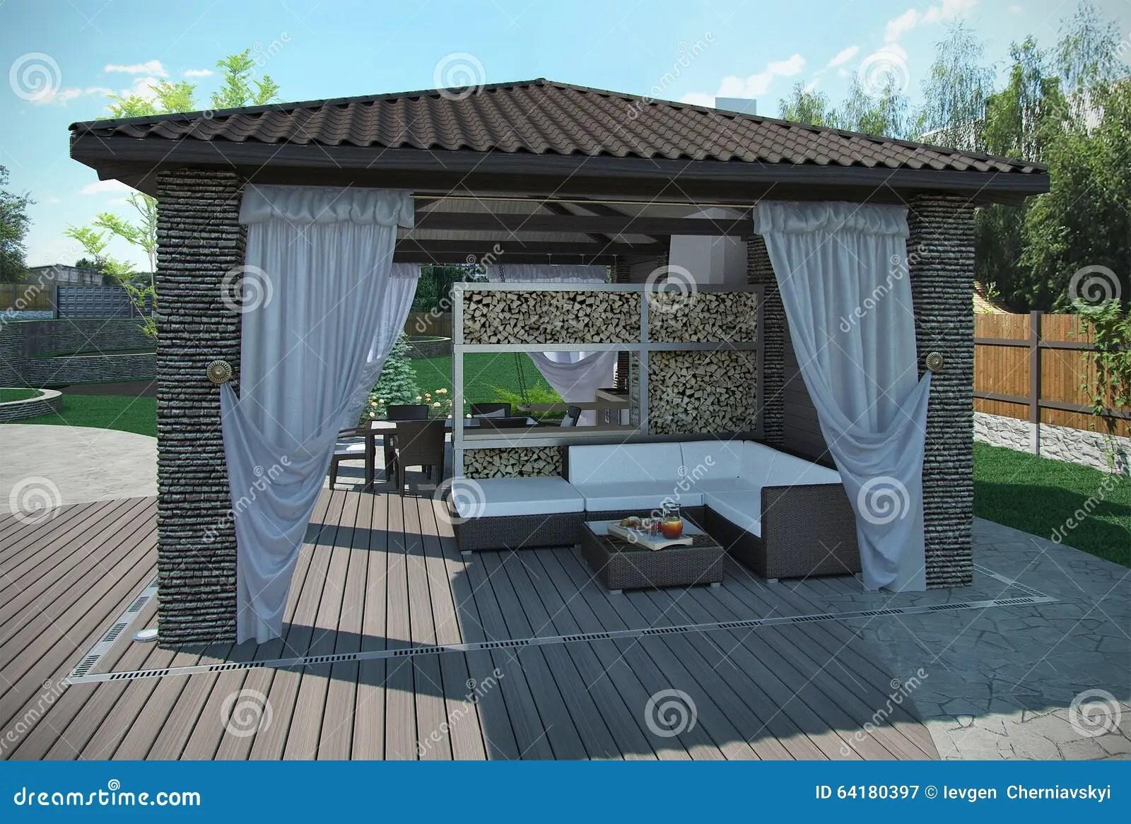 Beautiful Pavillon De Jardin Definition Contemporary - House Design ...