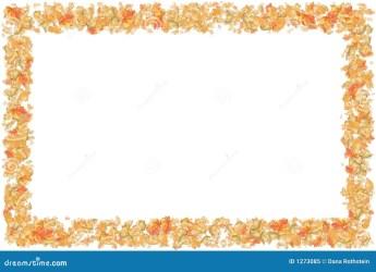 border leaf frame seasonal autumn royalty dreamstime